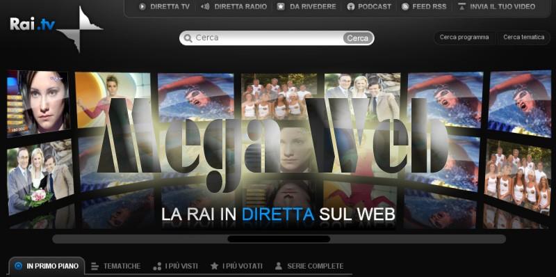 Rai 1 In Streaming Diretta Live Su Internet Mega Web